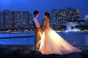 ハワイ ミハナ 挙式